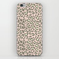 missy leopard iPhone & iPod Skin