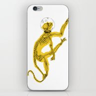 iPhone & iPod Skin featuring Space Monkey by PAFF