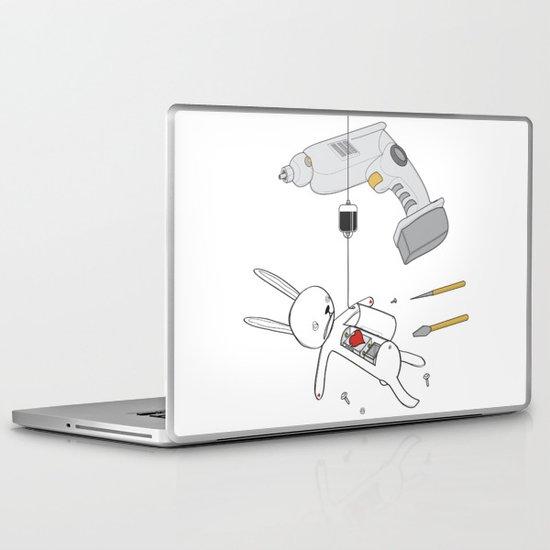 RABBIT FIX (SAVED RABBIT SERIES 2) Laptop & iPad Skin