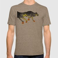 Going Wild 3 Mens Fitted Tee Tri-Coffee SMALL