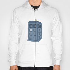 Abstract TARDIS Hoody