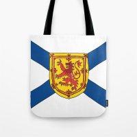 The Flag of Nova Scotia  Tote Bag