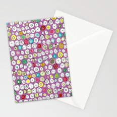 buttons and bees Stationery Cards