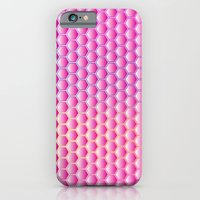 iPhone & iPod Case featuring Pink Honeycomb by All Is One