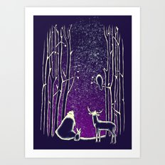 They watch them too Art Print