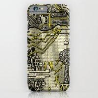 Destructive Nature iPhone 6 Slim Case