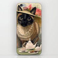 Lady Cat iPhone & iPod Skin