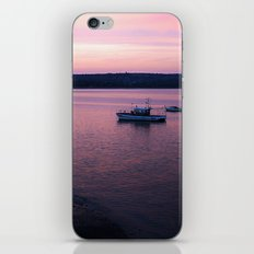 Dusk in the Harbour. iPhone & iPod Skin