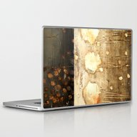 Laptop & iPad Skin featuring Brown And Beige by Haroulita