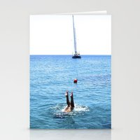 Tip Toes Up Stationery Cards