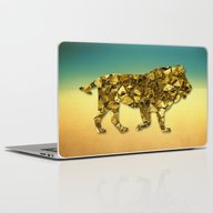 Animal Mosaic - The Lion Laptop & iPad Skin