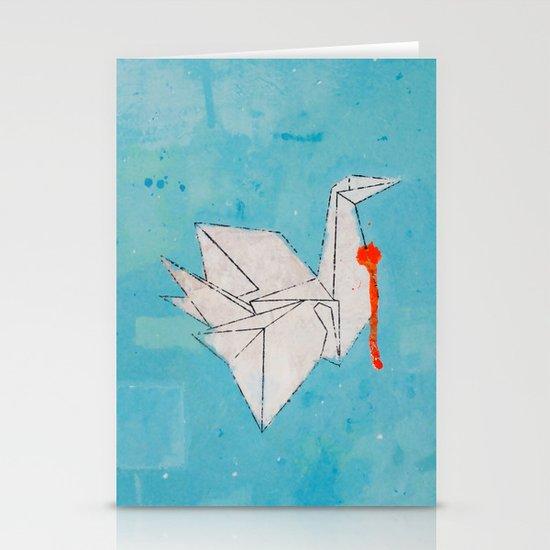 Paper Bird Stationery Card