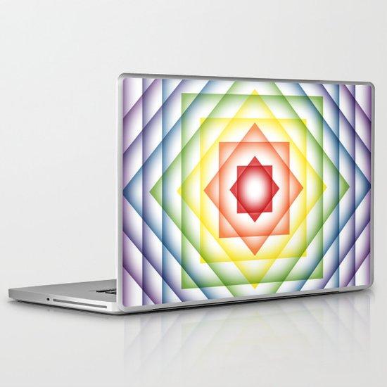 ROY G BIV Overlay Laptop & iPad Skin