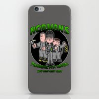 Norman's Paranormal Pest… iPhone & iPod Skin