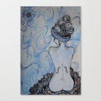 Man Ray inspired Canvas Print