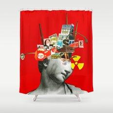 Ich bin so frei Shower Curtain
