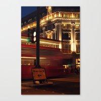 London Diversion Canvas Print