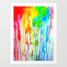 Colors of life : Colors Series 3 Art Print
