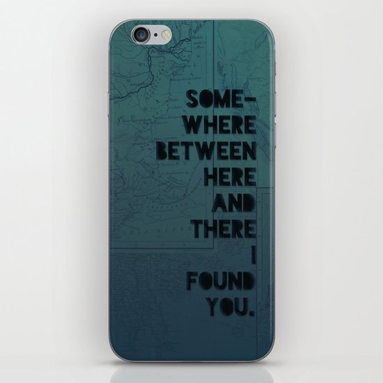 Here & There II iPhone & iPod Skin