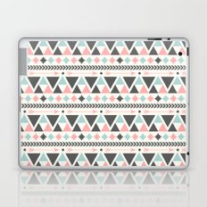 Coral and Mint Aztec Inspired Pattern Laptop & iPad Skin