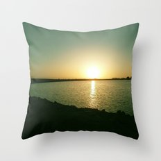 By the Bay Throw Pillow