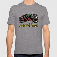 We On Award Tour Mens Fitted Tee Tri-Grey SMALL