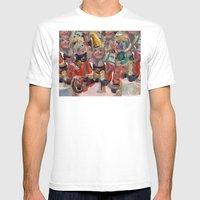 Hummel Funnel Mens Fitted Tee White SMALL