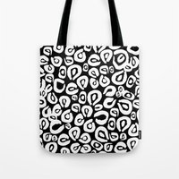 LEOPARD! (black) Tote Bag