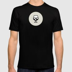 Liquor Icon - Drinks Ser… Mens Fitted Tee Black SMALL
