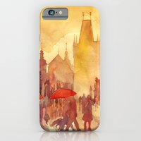 iPhone Cases featuring Charles Bridge by takmaj