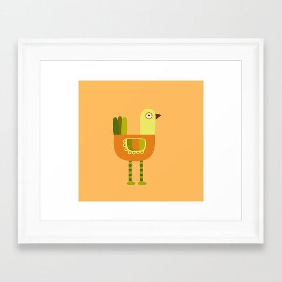 Long Legs Framed Art Print