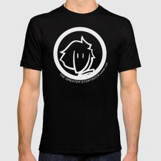 Inverted Boy of the Woods Black Mens Fitted Tee SMALL