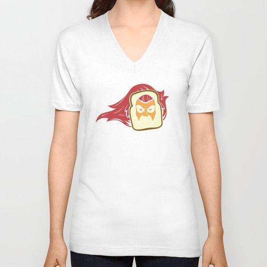 Thunderbread V-neck T-shirt
