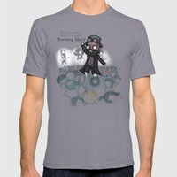 The Audience Mens Fitted Tee Slate SMALL