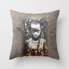the Unknown Soldier. version 3 Throw Pillow