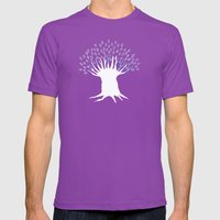 Olive Tree Mens Fitted Tee Ultraviolet SMALL