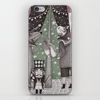 Of Snow and Stars and Christmas Wishes iPhone & iPod Skin