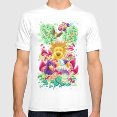 The guardian of nature Mens Fitted Tee White SMALL