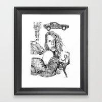 Fashion)  Framed Art Print
