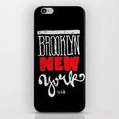 Brooklyn New York iPhone & iPod Skin