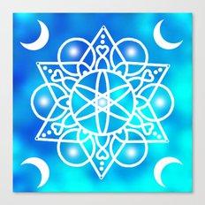 Cloud Mandala Canvas Print