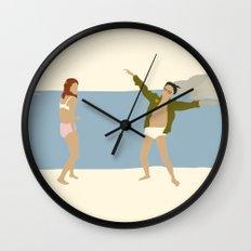 MOONRISE KINGDOM COVE Wall Clock