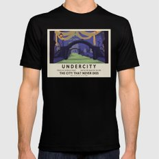 Undercity Classic Rail Poster Mens Fitted Tee SMALL Black