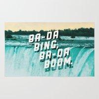 Ba-da Bing, Ba-da Boom. Rug