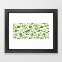 Dinos Framed Art Print