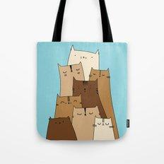Cat Mountain Tote Bag