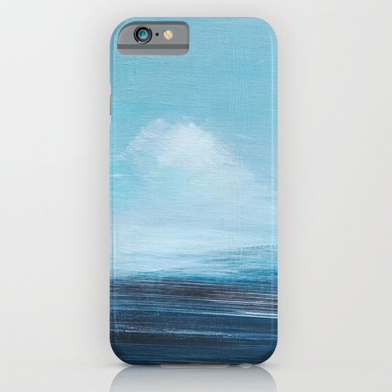 abstract surreal seascape iPhone & iPod Case