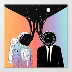 A Portrait of Space and Time ( A Study of Existence) Canvas Print