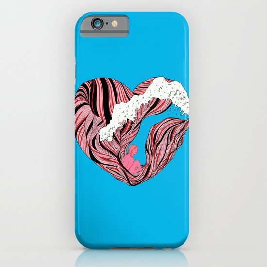 Ocean Heart iPhone & iPod Case
