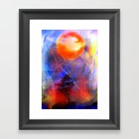 Hot Is The Sun Framed Art Print